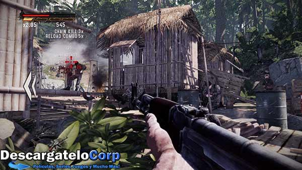 Rambo The Video Game Baker Team Español Juego PC