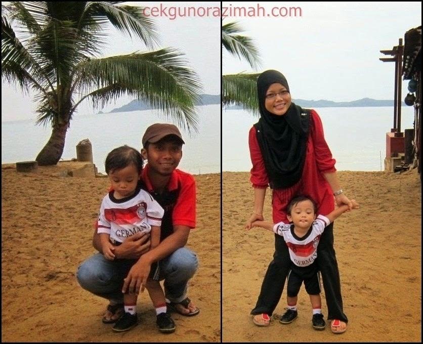 menyandat sotong, Trip Kuala Terengganu,