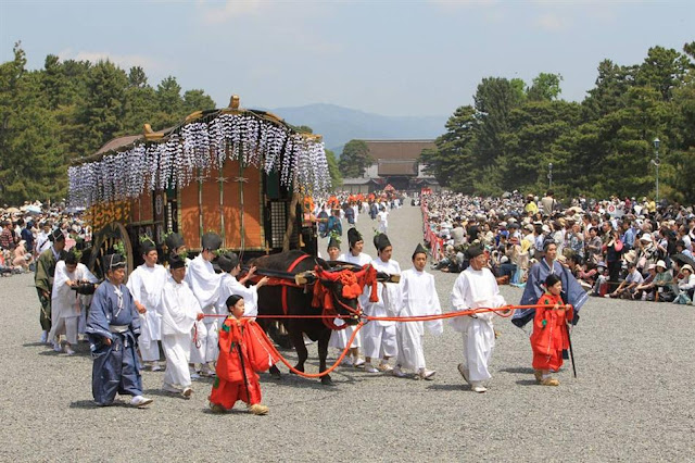 Aoi Matsuri in Kyoto, the world's oldest festival