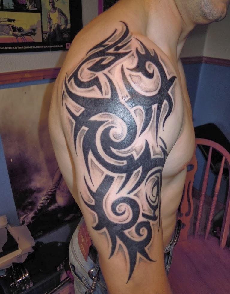 tattoo art cool guy tattoos trendy. Black Bedroom Furniture Sets. Home Design Ideas
