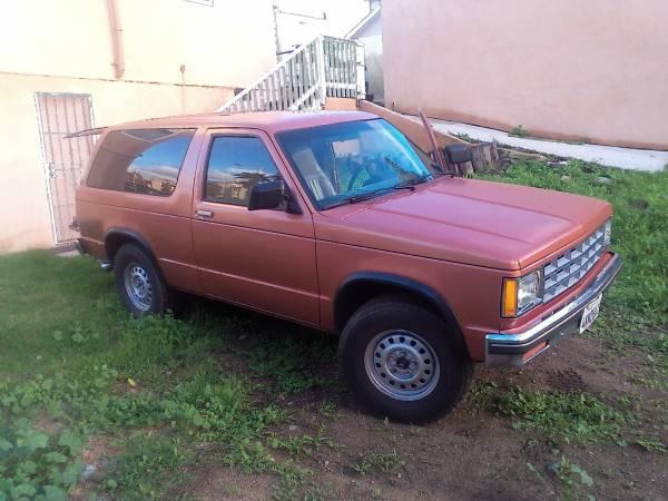 1987 Chevy Blazer S10 4x4