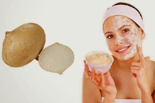 Cara Memutihkan Kulit Wajah Secara Alami dengan masker bengkoang