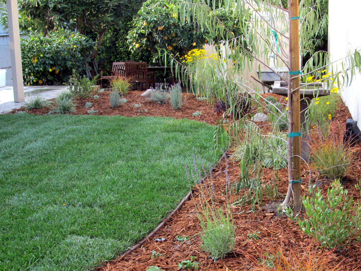 Fairy Yardmother Landscape Design: Backyard Makeover on a ... on Patio Makeovers On A Budget id=29660