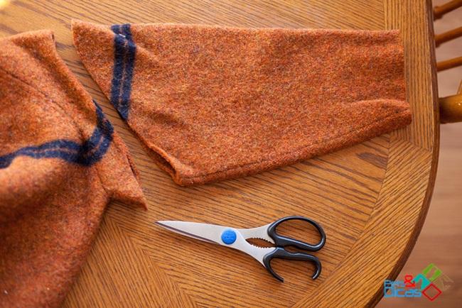 Como fazer roupa para cachorro com manga de blusa passo a passo