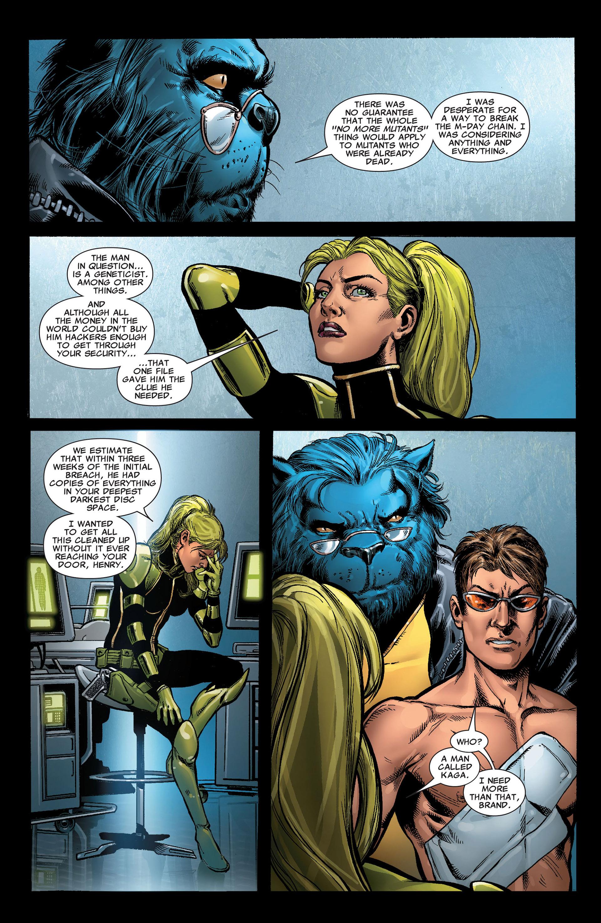 Read online Astonishing X-Men (2004) comic -  Issue #33 - 4