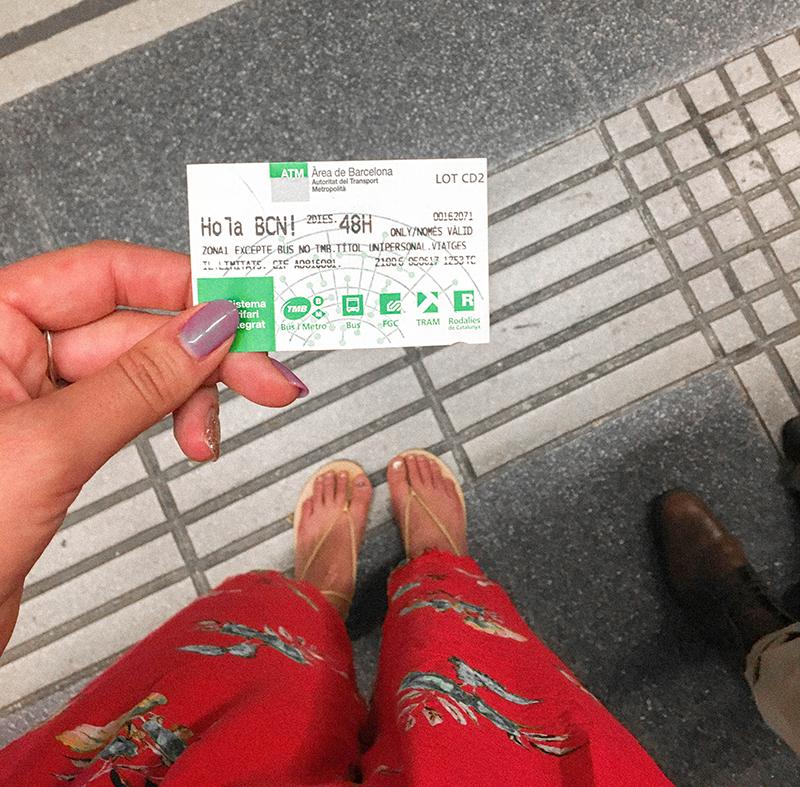 barcelona metro, metro pass, barcelona spain metro