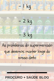 As prateleiras do supermercado que devemos manter longe da nossa dieta