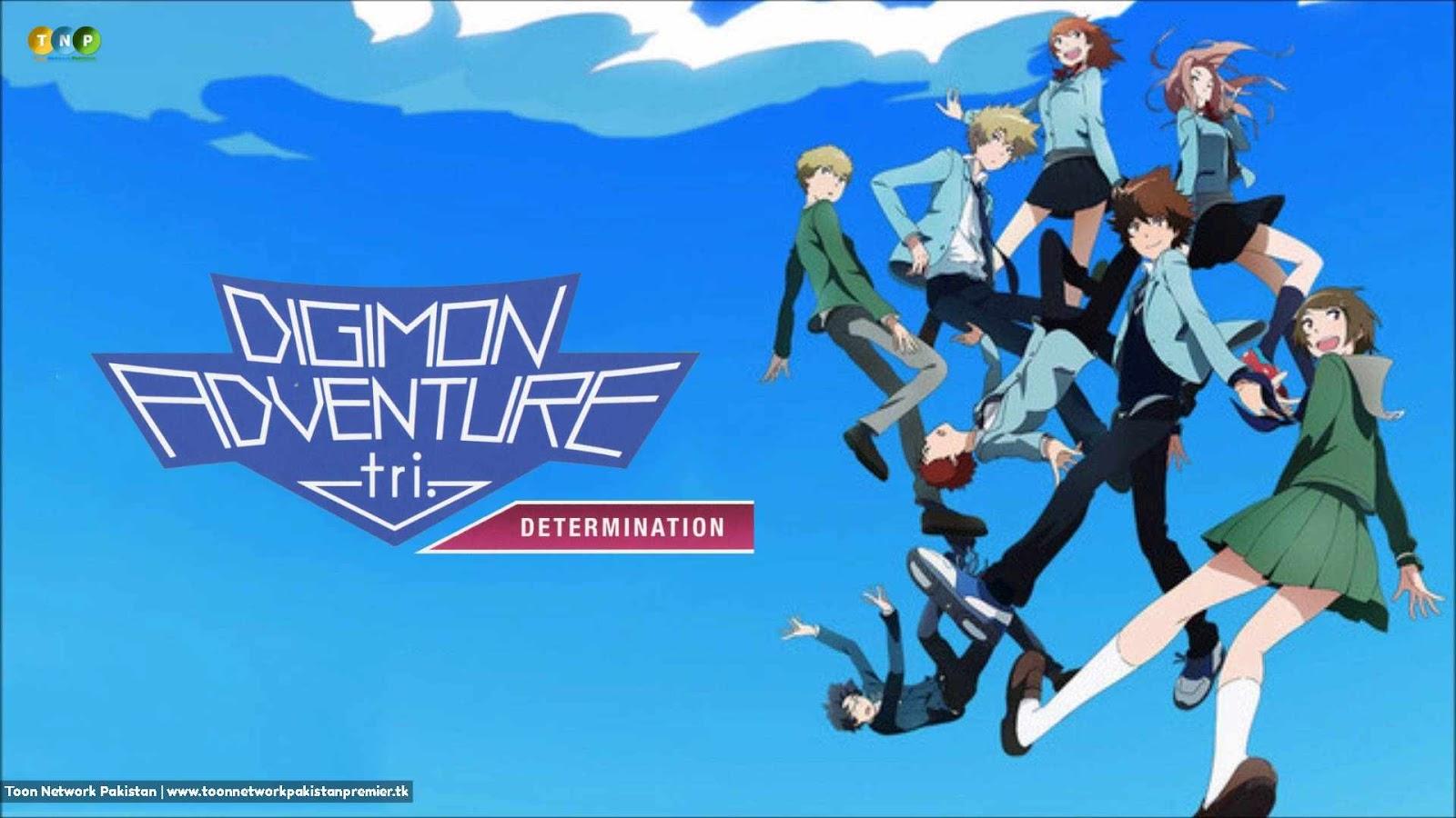 Digimon Adventure Tri. 02: Determination  Dubbed  HD (2015)