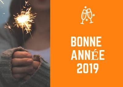 texte bonne année 2019