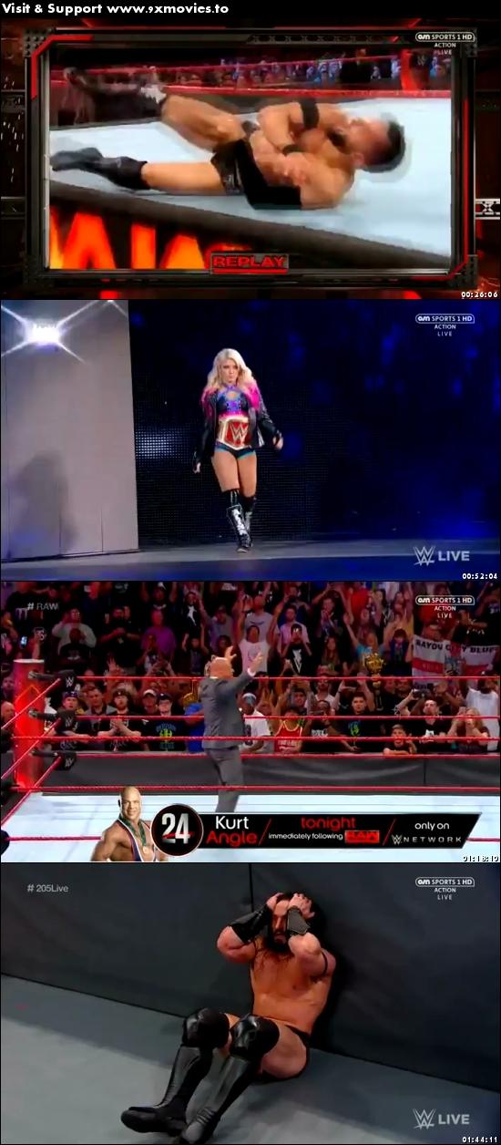 WWE Monday Night Raw 10 July 2017 HDTV 480p 500mb