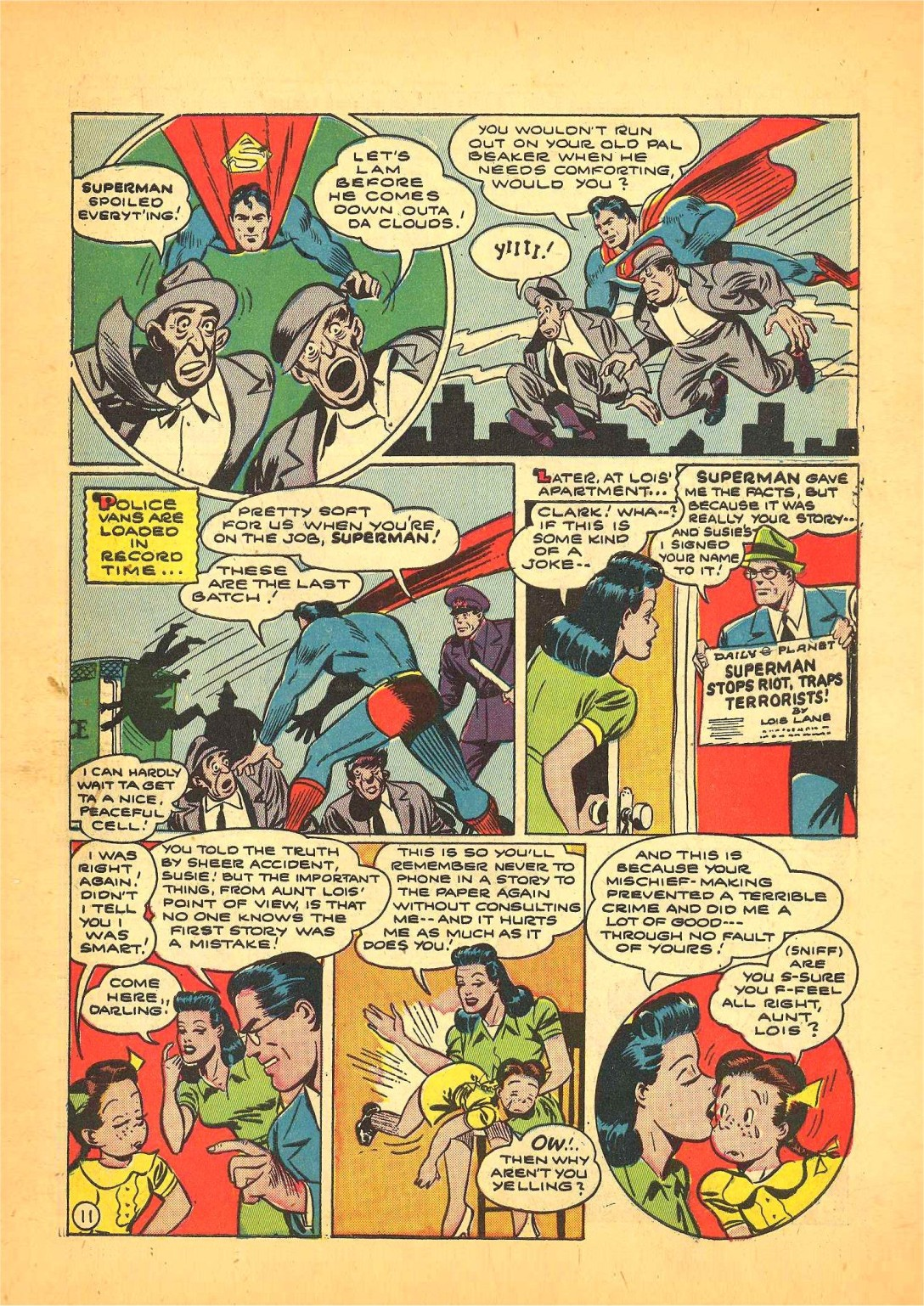 Read online Action Comics (1938) comic -  Issue #68 - 12
