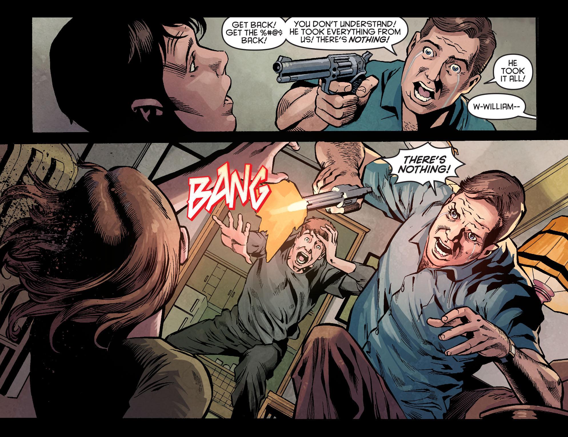 Read online Arrow: Season 2.5 [I] comic -  Issue #1 - 6