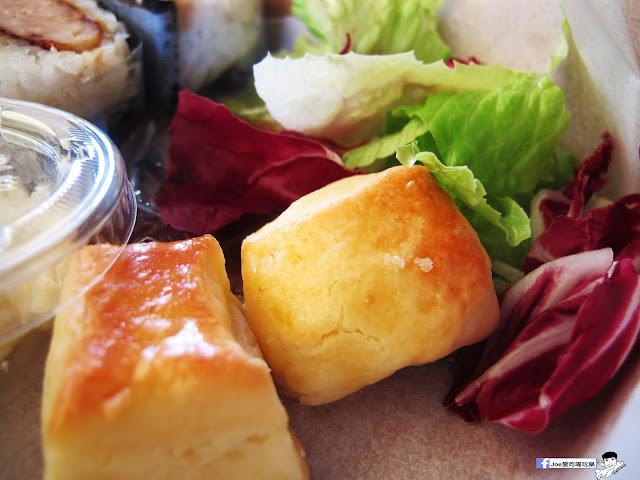 IMG 0453 - 隱藏在教師新村裡的 大小食事│客製化精緻餐盒,漢堡排川飯糰很推薦