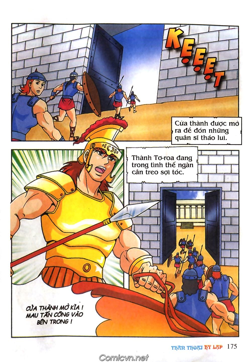 Thần Thoại Hy Lạp Màu - Chapter 61: So tài của hai vị tướng - Pic 4