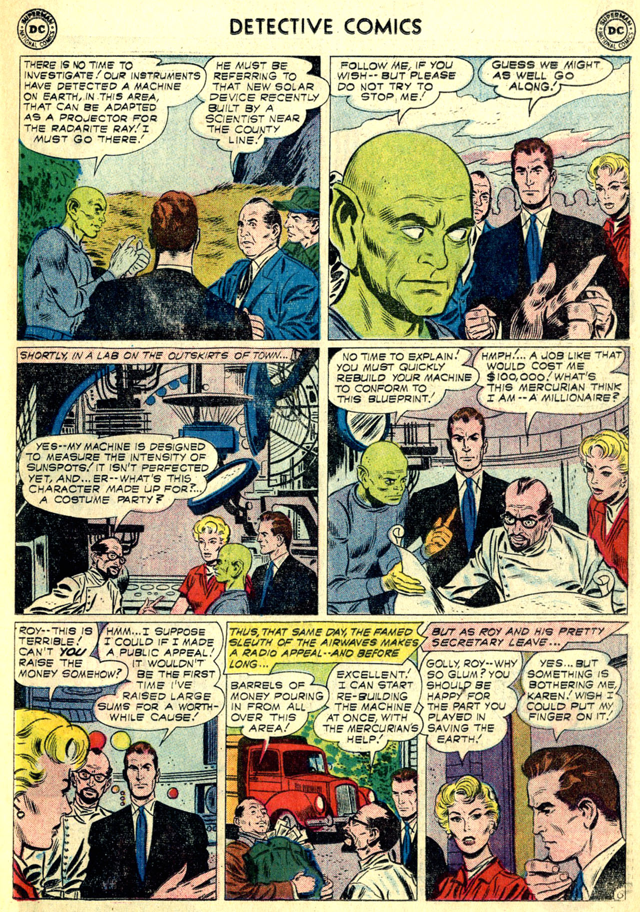 Read online Detective Comics (1937) comic -  Issue #268 - 23