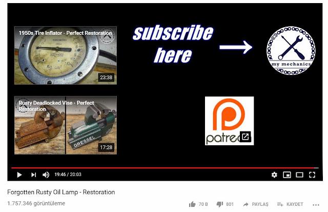 Videolarda ek açıklamalar girilmesine örnek