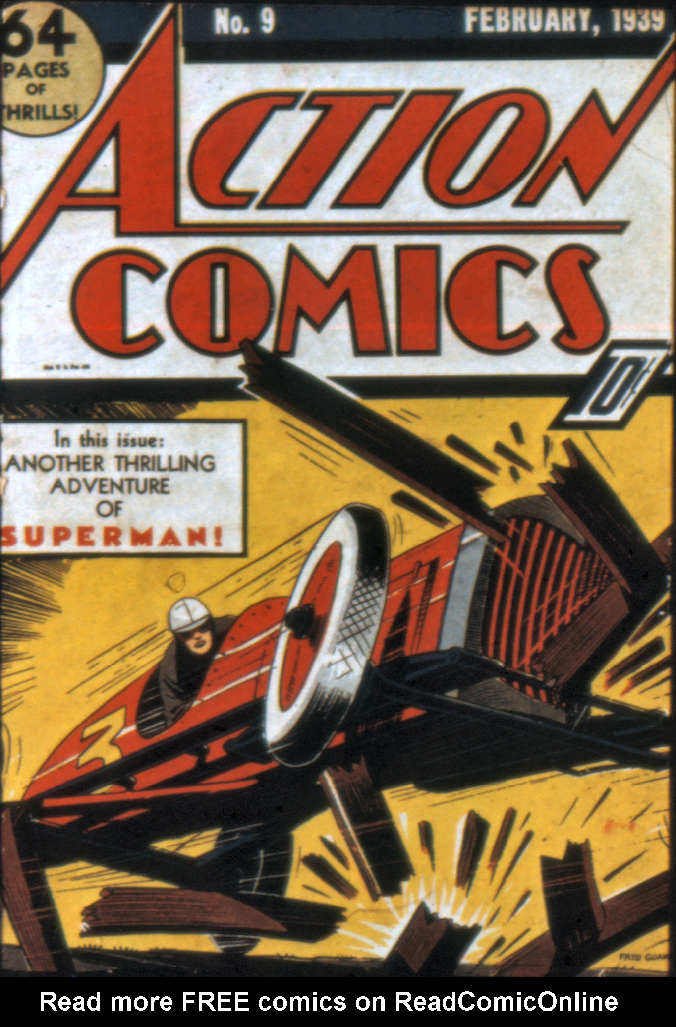 Read online Action Comics (1938) comic -  Issue #9 - 1