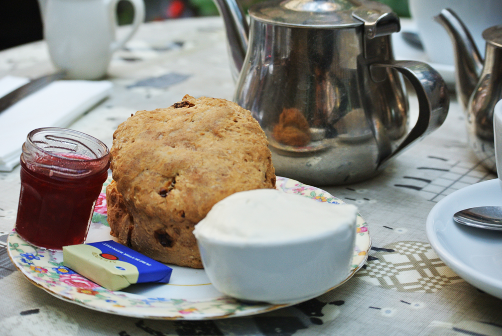 Scones at Deacon's House, Edinburgh