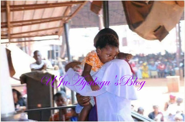 Father Mbaka Allegedly Resurrects Dead Baby During Church Crusade (Photos)