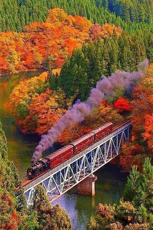 Locomotiva e Trem | Belas Imagens de Locomotivas e Trens ao Redor do Mundo