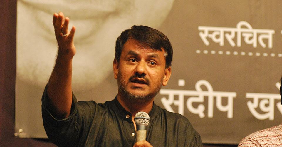 Girish Kulkarni at Irshad in Pune