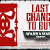 "A Large List of ""Last Chance to Buy"" From Forgeworld"