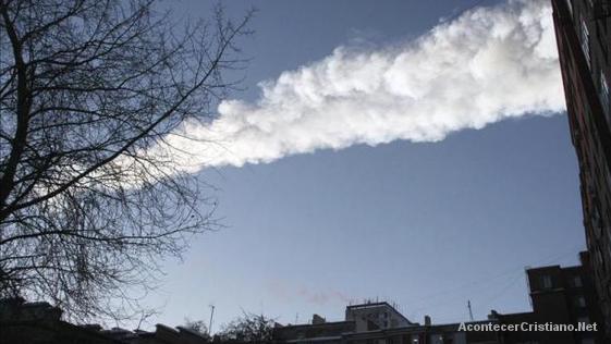 Caída de meteorito en Rusia