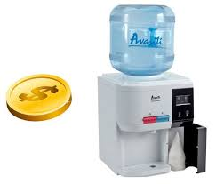 Coin Based Water Dispenser System