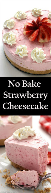 No Bake Strawberry Cheesecake recipes