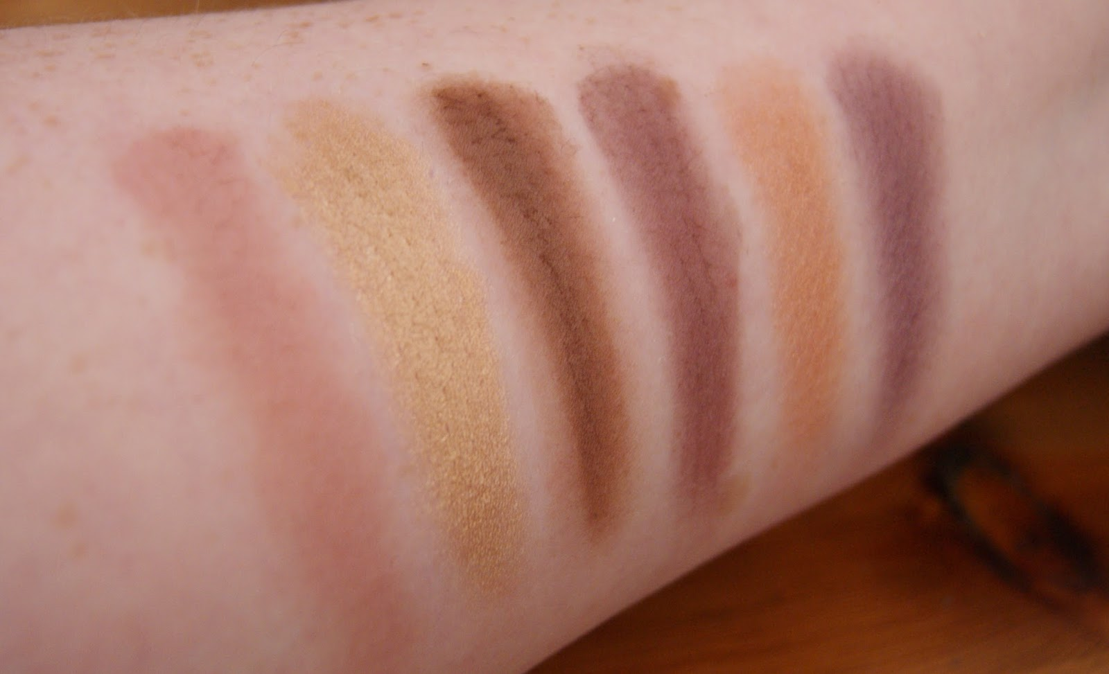 Makeup Revolution Death By Chocolate Row 2 Swatches