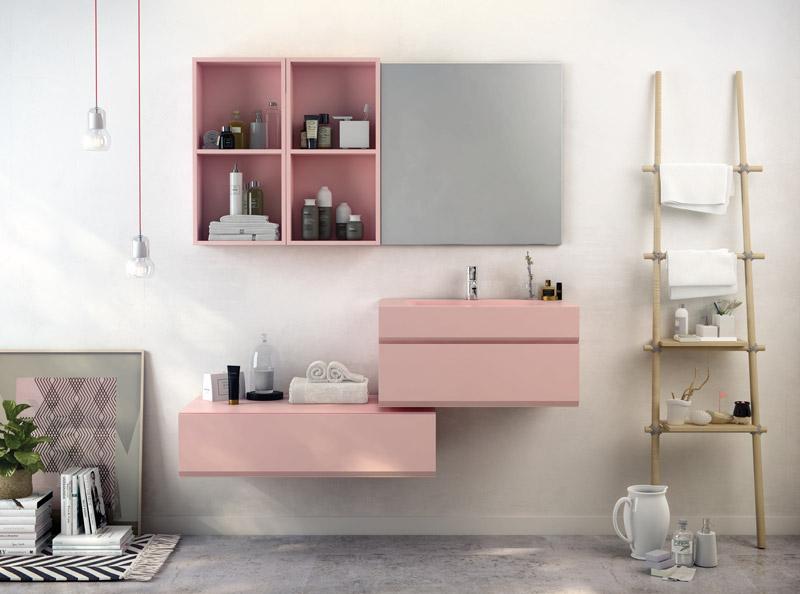 collezione mobili MAKING rosa