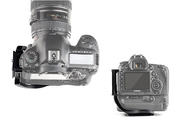 Sunwayfoto PCL-5DIVG fitting on Canon EOS 5D MKIV