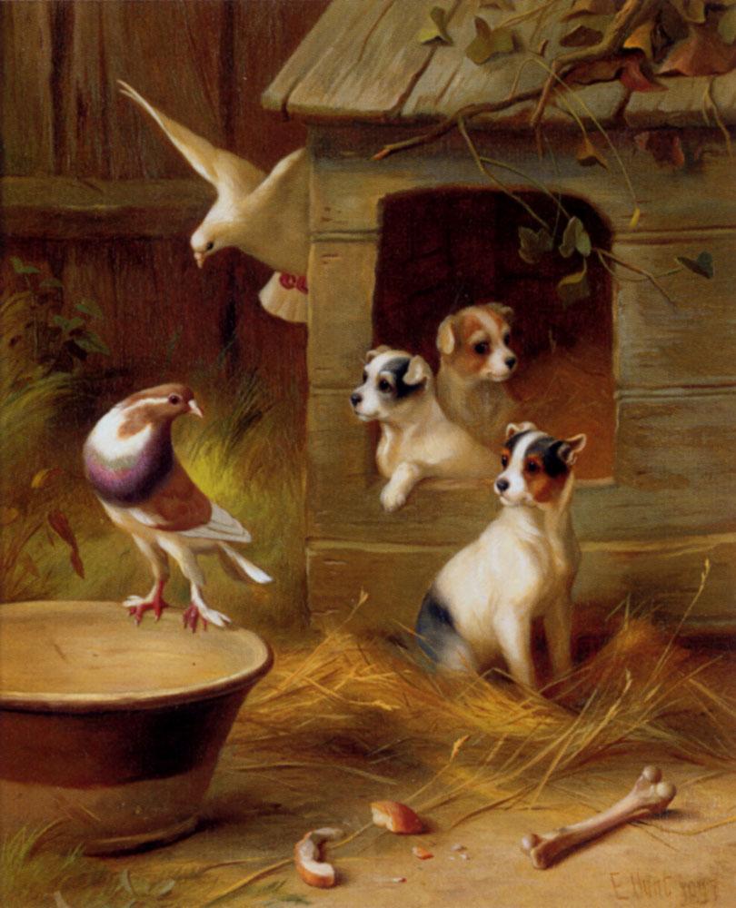 Painting Of Edgar Hunt Artist Edgar Hunt Paintings