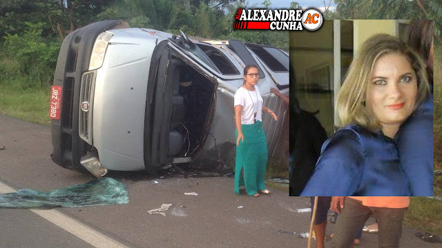 Chapadinhense, Elizangela Carvalho morre em acidente na BR-135.