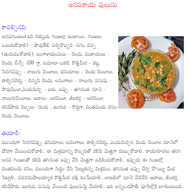 Healthy food recipes sorakaya pulusu recipe in telugu sorakaya pulusu recipe in telugu forumfinder Gallery