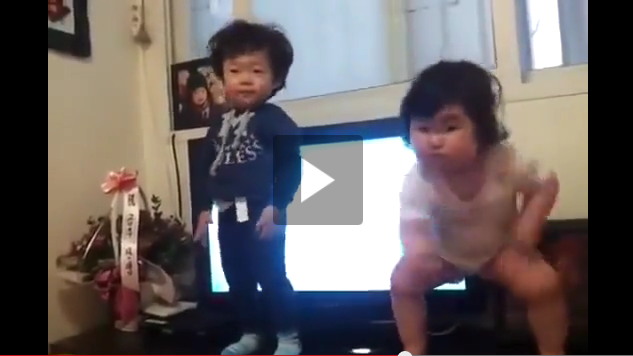 Dancing Korean Baby