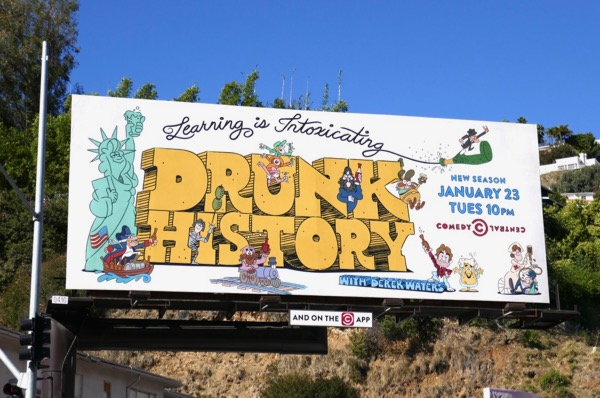Drunk History season 5 billboard