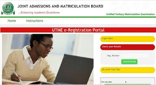 Official: JAMB Registration Begins for 2017 UTME Ends 19th April 2017