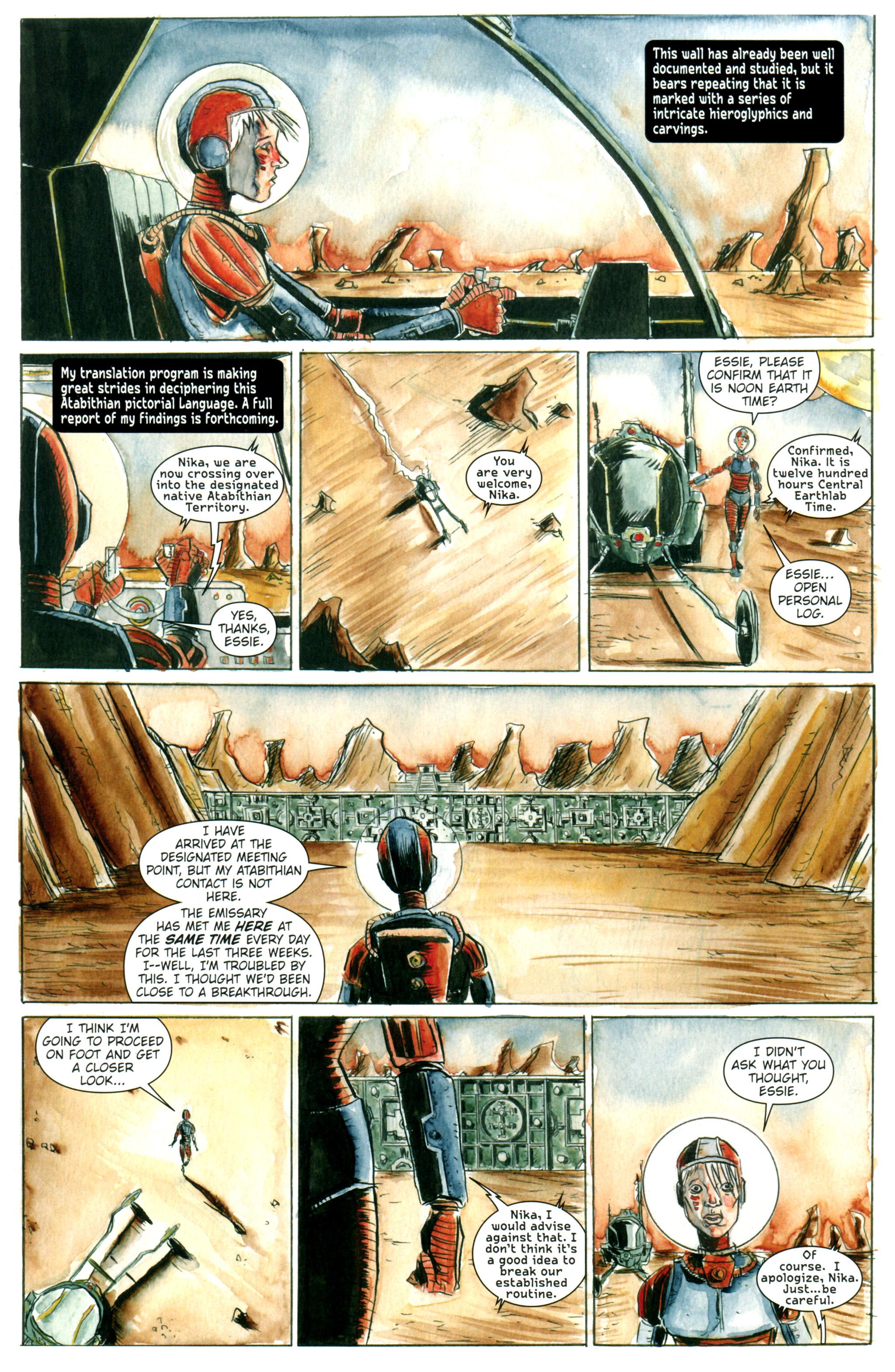 Read online Trillium comic -  Issue #1 - 23