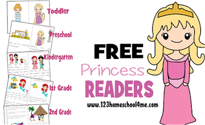 disney princess sight word readers