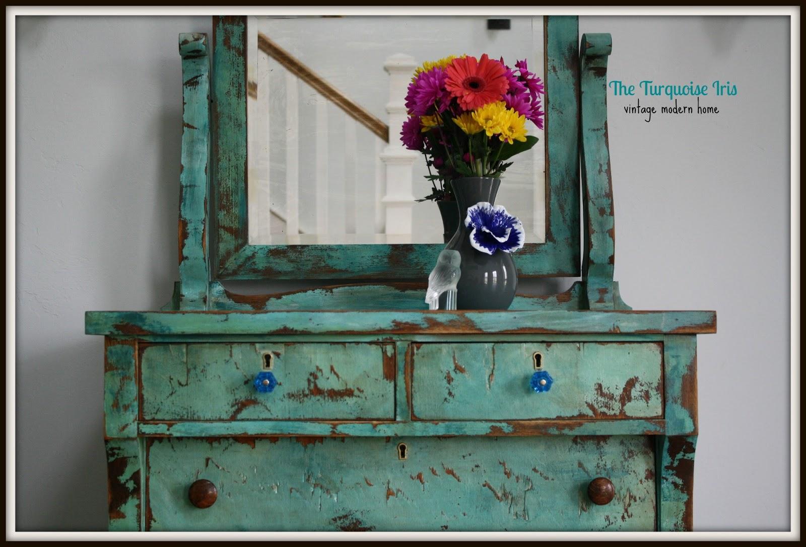 Furniture & Art: Turquoise Heavily