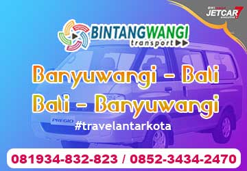 Bali Banyuwangi Travel Murah Pagi Siang Malam