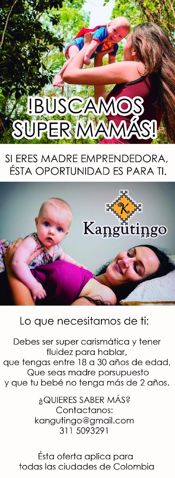 Buscamos Madres EmprendedorasFulares y tejidos KANGUTINGO