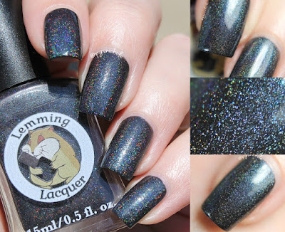 Lemming Lacquer Wrath of Time | A Very Merry Un-Birthday Collection