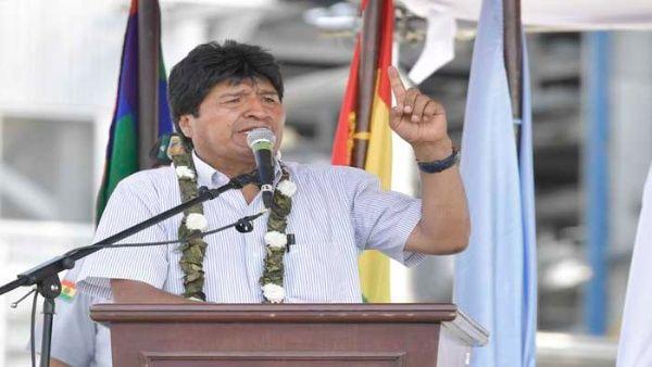 EE.UU. es la mayor amenaza para la democracia, dice Evo Morales