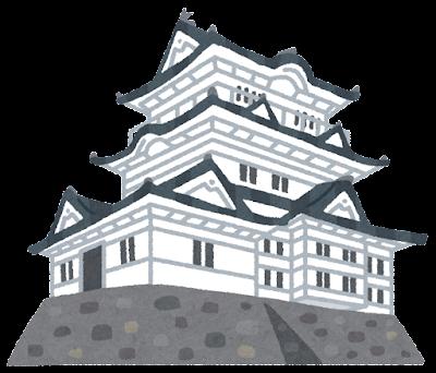 小田原城のイラスト