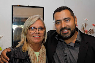Secretário de Saúde Julio Cesar Ambrosio e a coordenadora da Divisão de Saúde Mental, Cláudia Jaconianni: espaço para melhor atendimento dos pacientes
