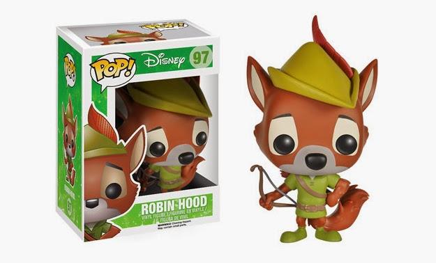 Robin Hood Pop Funko Bonecos