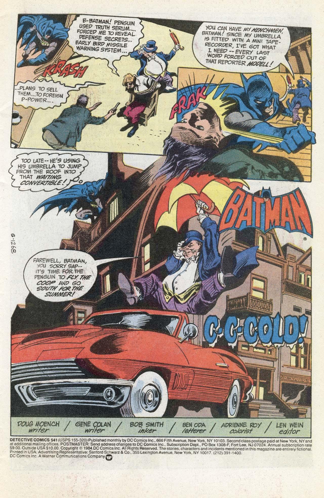 Detective Comics (1937) 541 Page 2