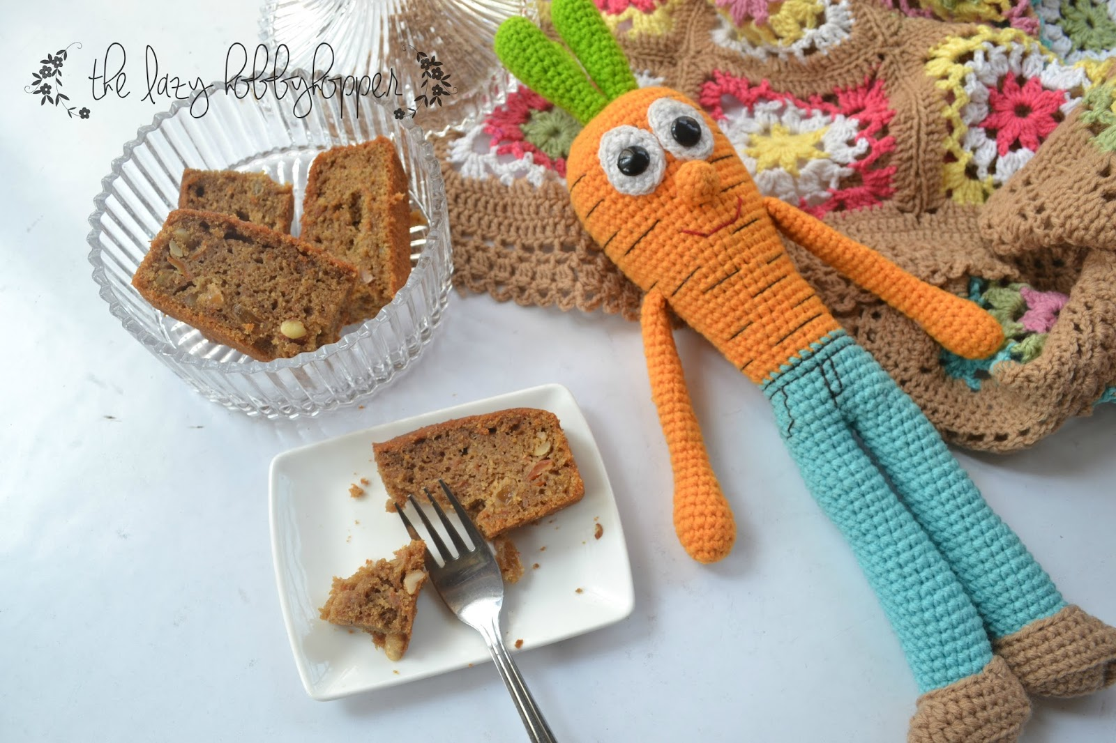Carrot Cake Recipe Uk No Nuts: The Lazy Hobbyhopper: Whole Wheat Carrot Cake With Coffee